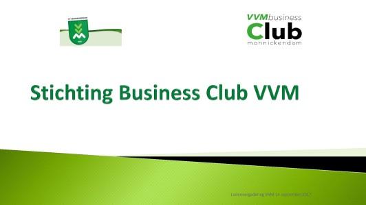 Uitleg Businessclub